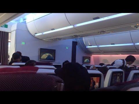 Qatar Airways Airbus A350XWB Flight Experience #2: QR1 Doha to London