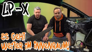 The LP-X assembly begins - it goes on inside!  - NEIDFAKTOR part 2 - | Philipp Kaess |