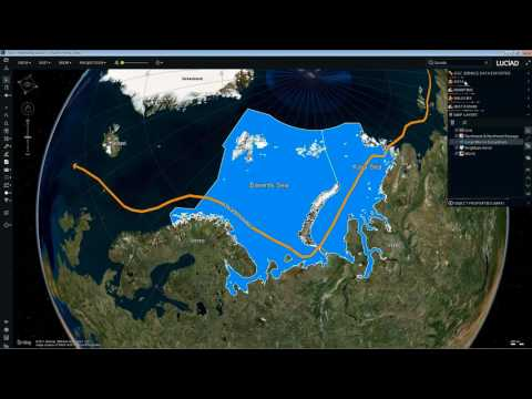 ArcticSDP - Luciad - New Shipping Routes in the Arctic