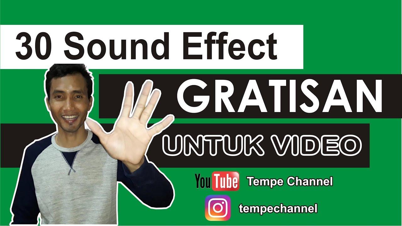 download sound effect untuk youtuber