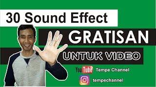 Download lagu Download Efek Suara Gratisan Untuk Youtube Instagram Dan Lain lain Tempe Channel MP3