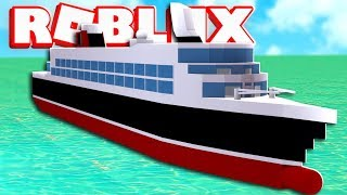 Cruise Ship Simulator In Roblox | JeromeASF Roblox