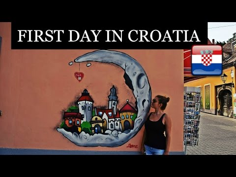 EXPLORING THE AMAZING ZAGREB, CROATIA! | Daily Travel Vlog 146 HD