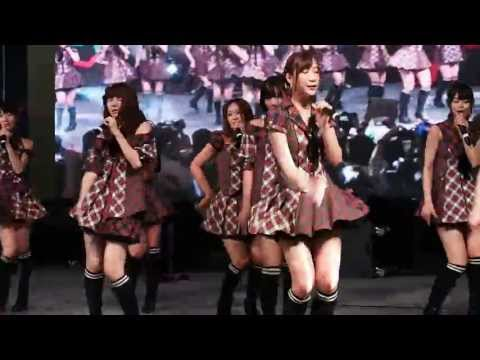 AKB48 - Gingham Check @ Tokyo Auto Salon Singapore 130413
