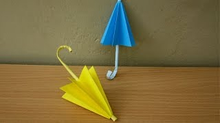 How to Make a Paper Umbrella (Rainy Season) - Easy Tutorials