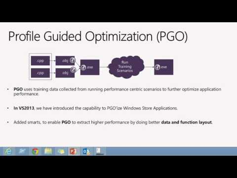 Visual Studio 2013 Launch New Compiler Optimizations for C++ Applications