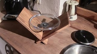 """⚔ Crazy Lid Holder - This Is My Entry For """"kitchen Utensil Build Challenge 2015"""""""