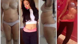 How To Banish Belly Bloat & Flatten Stomach WITHOUT EXERCISE | Weight Loss Tips & Photos