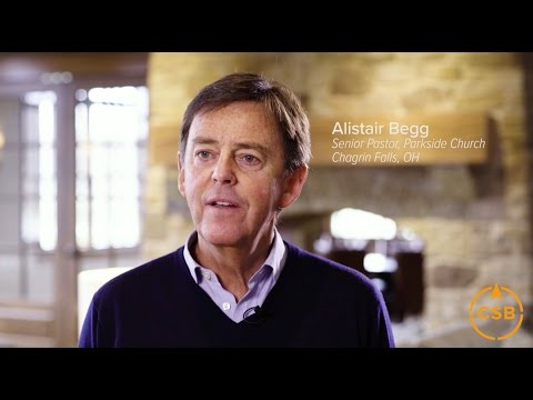 Why do you love the CSB? - Alistair Begg