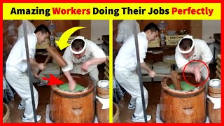 Amazing Workers Doing Their Jobs Perfectly