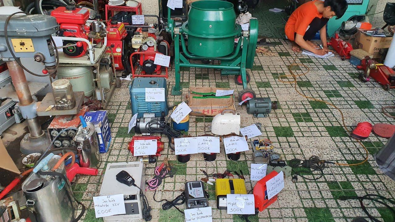 Motor bơm nước , Sạc bình , inverter nội địa Nhật | Ngày 12/7/2020 | LH 0914711438