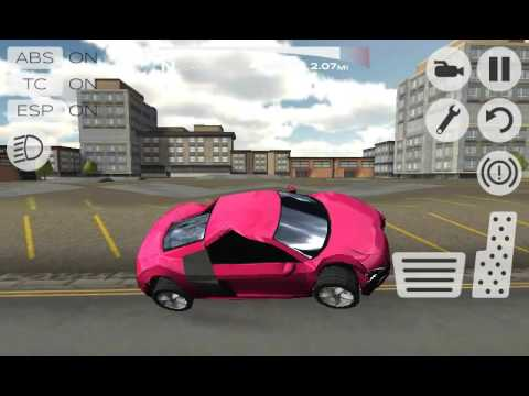 Let 39 s play extreme car driving simulator 2015 car for Car paint simulator
