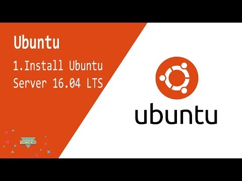 Ubuntu   1.Install Ubuntu Server 16.04.2 LTS