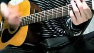 ゆずの「センチメンタル」のギターのみコピーです。 でもなんか微妙です。