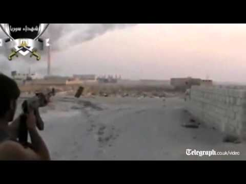 Rebels claim shooting down Syrian jet fighter