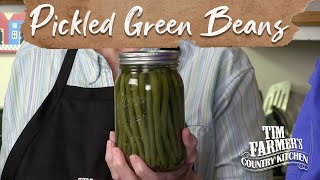 PICKLED GREEN BEANS | How-To Pickle Green Beans for Tasty Snack