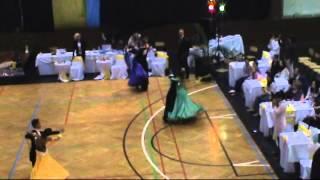 Szalai Dénes Balla Petra Slowfox Junior II 10 Tánc OB 2014 04 05