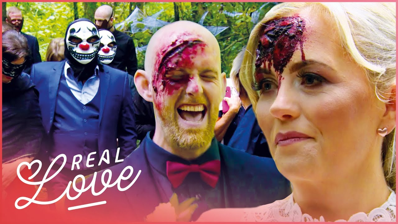 The Wedding Turned Out To Be a Halloween Party | Don't Tell The Bride S8E3 | Real Love