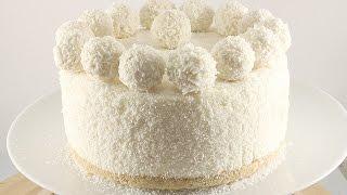 #Торт Без Выпечки # Рафаэлло # Очень Легкий Рецепт!