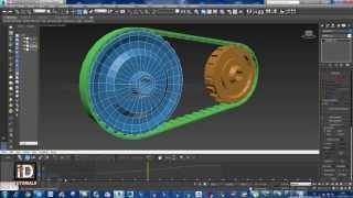 نقل الحركة بين التروس بواسطة سلسلة Transmissions between gears by series