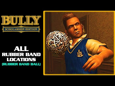 Bully: Scholarship Edition - All Rubber Band Locations [Rubber Band Ball] (1080p)