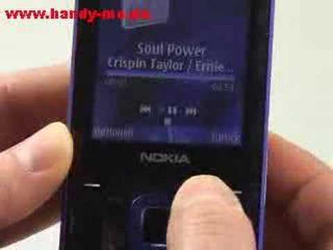Nokia N81 Musikplayer