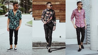 3 WAYS TO WEAR PRINT SHIRTS | OFF THE RACK NO. 5 | MEN