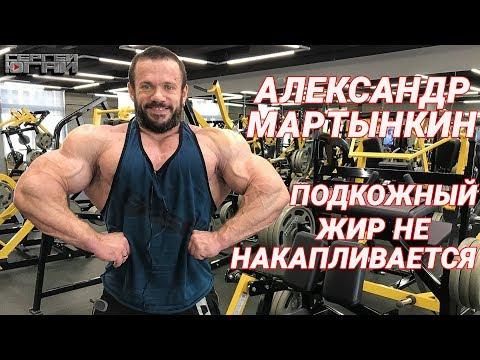 АЛЕКСАНДР МАРТЫНКИН ПОДКОЖНЫЙ ЖИР НЕ НАКАПЛИВАЕТСЯ