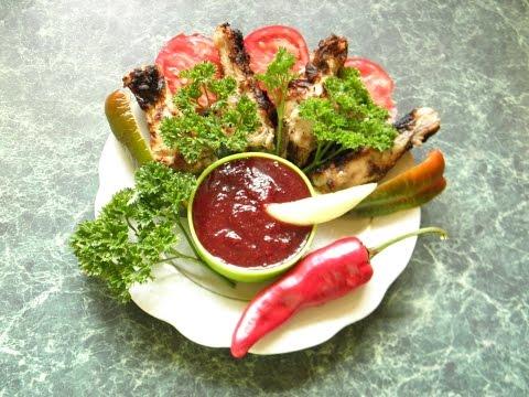 Сливовый соус к мясу на зиму