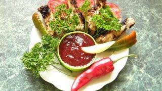 видео Сливовый соус к мясу: рецепт приготовления