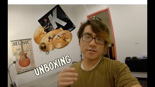 UNBOXING Zildjian K Custom Hybrid Set (Vlog #1)