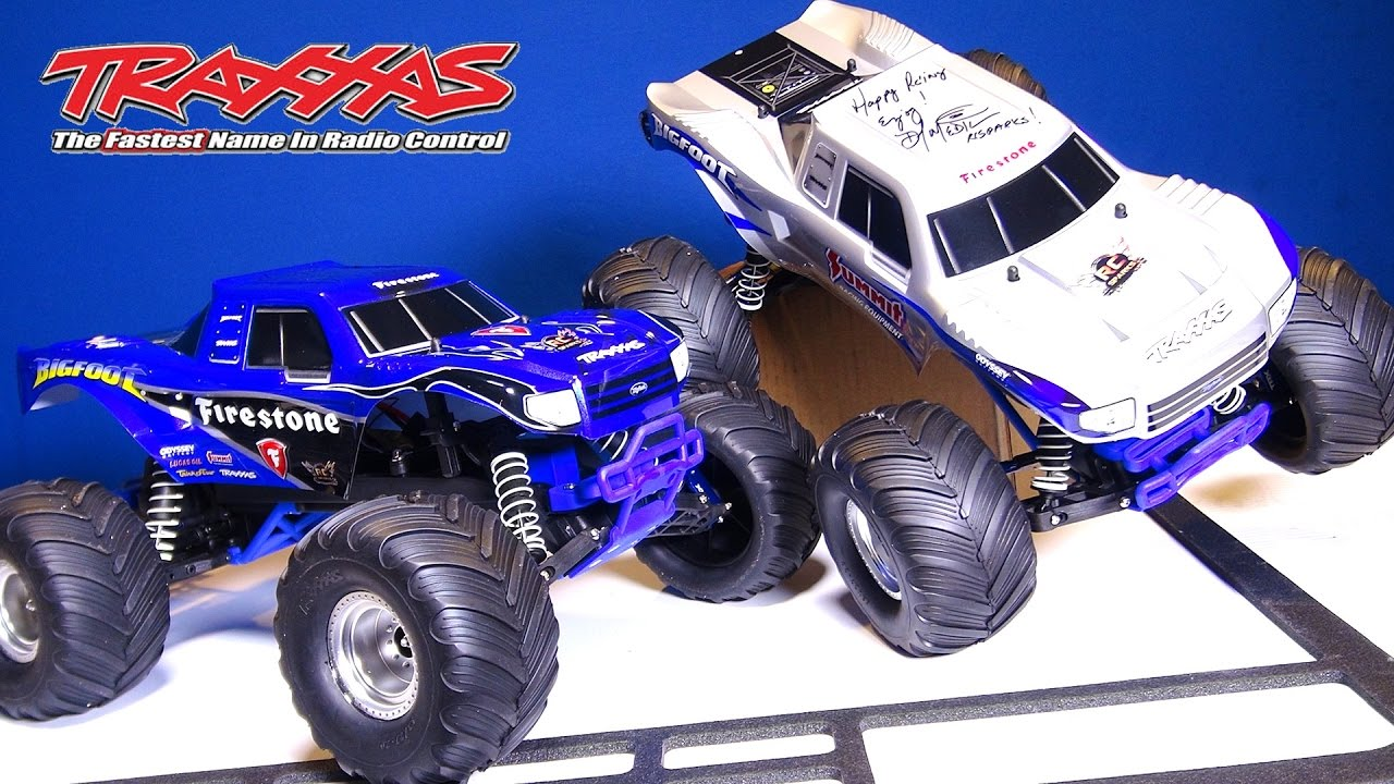 Rc Adventures Upgrading My Traxxas Bigfoots With Performance