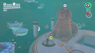 Ocean Quiz: Good! - Super Mario Odyssey - Nintendo Switch - No Commentary