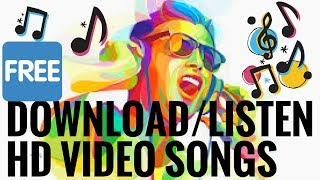 Listen/Download HD Video Songs On Your Phone Easily   At One Point   One-Click Download  