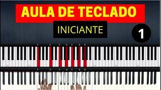 Aula de Teclado para Iniciantes | Aula 1 | Piano Tutorial