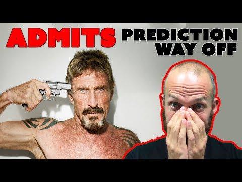 "Crypto Expert Admits Prediction ""Way Off"""