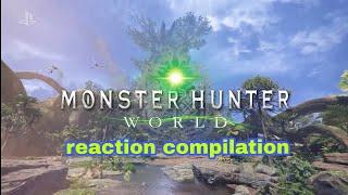 Monster Hunter world - Sony E3 2017 - Reaction Compilation