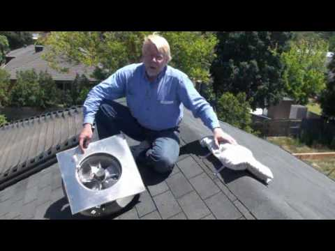 ECOsparks Solar Powered Roof Vent