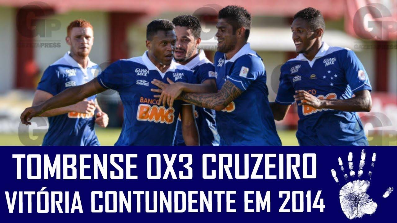 Tombense 0x3 Cruzeiro 2014 Jogos Históricos Youtube