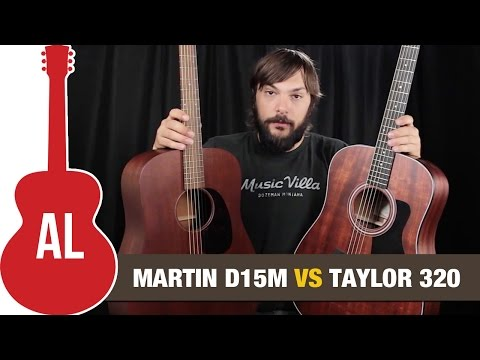 Martin D15M VS Taylor 320 - Can you hear the difference?