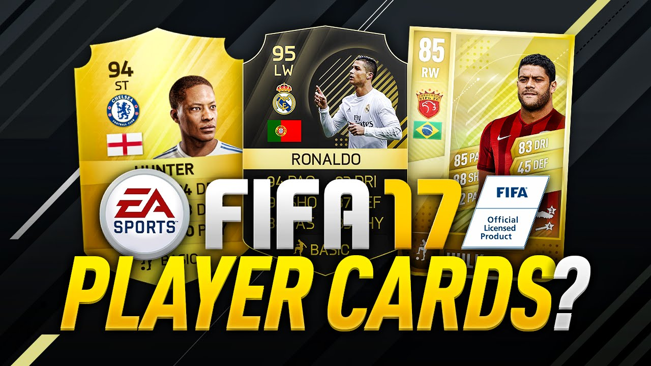 FIFA 17 PLAYER CARDS? - YouTube