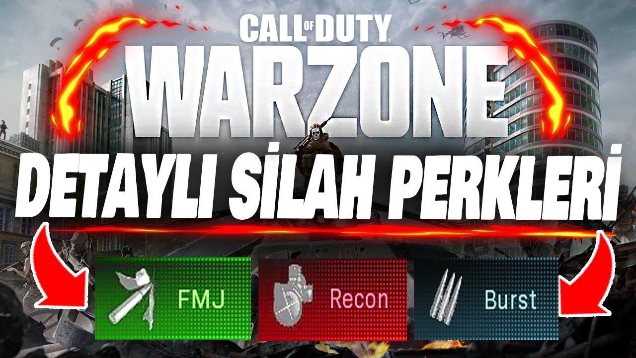 Warzone Silah Perkleri Hakkında Her şey | Cod MW Warzone Türkçe Rehber