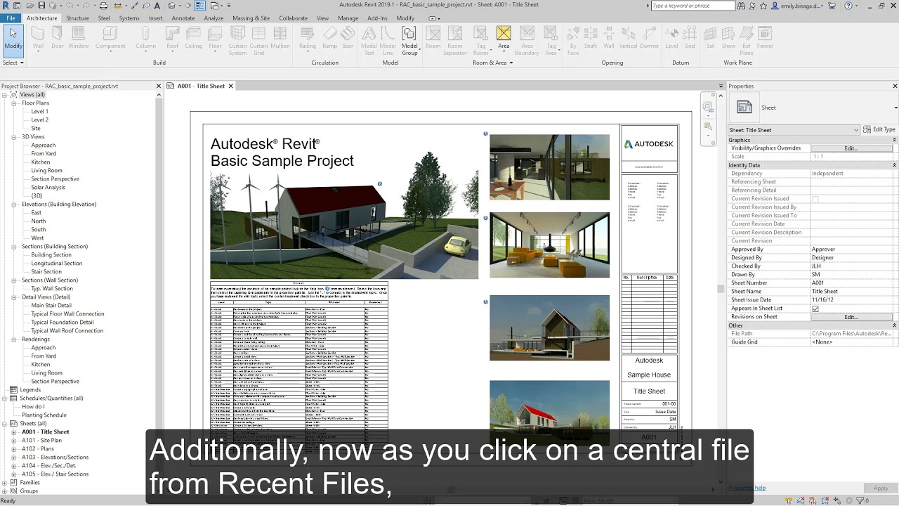 Tour the Revit 2019 1 new features in the latest release - Revit