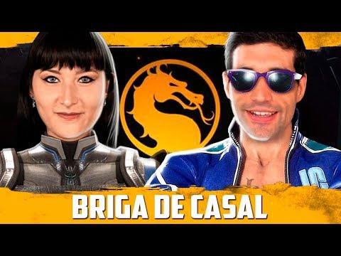 Jogando Mortal Kombat 11 com a minha NAMORADA, BRIGA de CASAL thumbnail