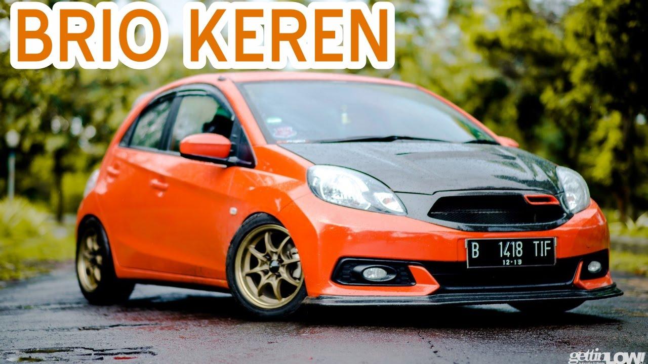 Kumpulan Contoh Modifikasi Mobil Honda Brio Keren  YouTube