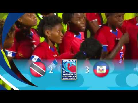 CU20W 2018: Trinidad & Tobago vs Haiti Highlights
