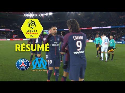 Paris Saint-Germain - Olympique de Marseille (3-0)  - Résumé - (PARIS - OM) / 2017-18