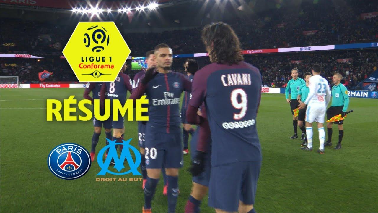 Paris Saint-Germain - Olympique de Marseille (3-0) - Résumé - (PSG - OM)    2017-18 0d8935ccf02