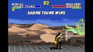 Mortal Kombat Revelations (GEN) Shang Tsung [1440p] [TAS]