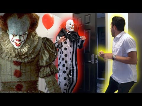 "Thumbnail: ""IT"" CREEPY CLOWN SCARE PRANK!"